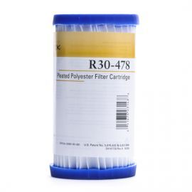 Pentek R30-478 Pleated Polyester Water Filters (4-7/8-inch x 2-5/8-inch)