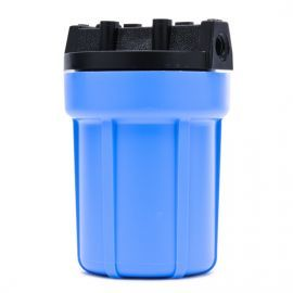 Pentek 158138 1/4-Inch #5 Blue/Black Water Filter Housing