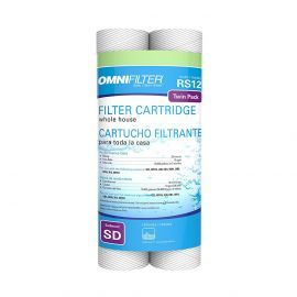 RS12-DS3-S06 OmniFilter Whole House Water Filter Cartridges (2-Pack)