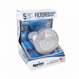 ACC5-CM Sprite Cascade Filtered Shower Head (5-Setting)