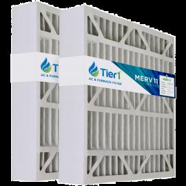 20x20x5 255649-103 & 259112-103 Trion / Air Bear MERV 11 Comparable Air Filter by Tier1 (2-pack)