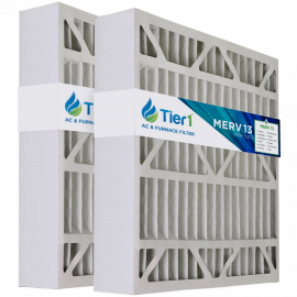 Tier1 brand replacement for Lennox X0585 - 20 x 20 x 5 - MERV 13 (2-Pack)