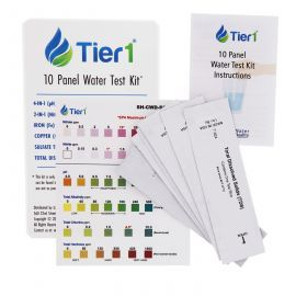 Tier1 10 Panel Water Test Kit