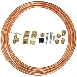 Copper 25-Foot 1/4-inch Water Line Install Supply Line Kit by Tier1