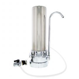 CT-SS-1000 Countertop Drinking Water Filter System by Tier1 (Stainless Steel)