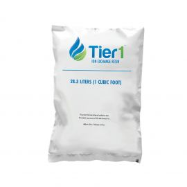 Tier1 Ion Exchange Resin (1 Cubic Foot Bag)