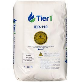 Ion Exchange Water Softener Resin by Tier1 (1 Cubic Foot)