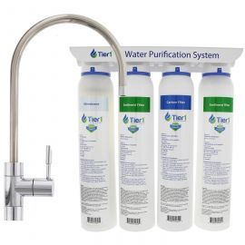 4-Stage Tier1 Ultra-Filtration Hollow Fiber Water Filter System