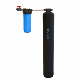 Tier1 Eco Series Whole House Water Softener Alternative (Salt Free Softener), 4 - 6 Bathrooms