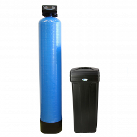 Tier1 Everyday Series 64,000 Grain High Efficiency Digital Water Softener with Automatic Bypass