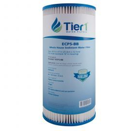 Pentek ECP5-BB Comparable Whole House Sediment Water Filter by Tier1