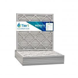 12x12x1 Merv 11 Universal Air Filter By Tier1 (6-Pack)