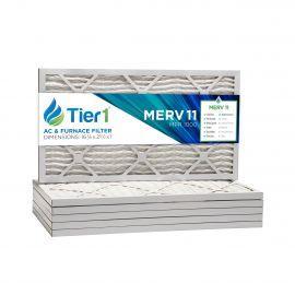 16 3/8x21 1/2x1 Merv 11 Universal Air Filter By Tier1 (6-Pack)