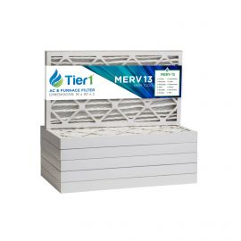 16x30x2 Merv 13 Universal Air Filter By Tier1 (6-Pack)