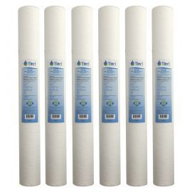 20 X 2.5 Polypropylene Replacement Filter by Tier1 (5 micron) (6-Pack)