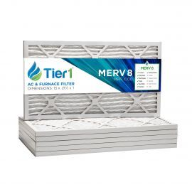 13x21 1/2x1 Merv 8 Universal Air Filter By Tier1 (6-Pack)