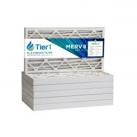 16x30x2 Merv 8 Universal Air Filter By Tier1 (6-Pack)