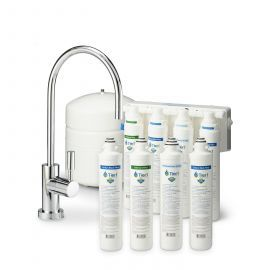 4-Stage Tier1 Quick Change Reverse Osmosis System with Filter Change Set
