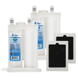 WF2CB Frigidaire and PAULTRA Frigidaire Comparable by Tier1 Refrigerator Water Filter and Air Filter Combo (2 Pack)