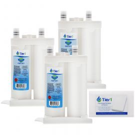 Frigidaire PureSource2 WF2CB Comparable Refrigerator Water Filter Replacement (3-Pack) and Magic Erasing Sponge (12-Pack) kit by Tier1