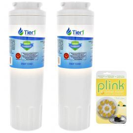 EDR4RXD1 EveryDrop UKF8001 Maytag Comparable Refrigerator Water Filter and Plink Garbage Disposal Cleaner (2 Pack)