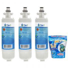 LT700P Replacement Brand Filter (3-Pack) and E-150 Eva-Dry Silica Gel Moisture Absorbing Pouch Twin Pack by Tier1