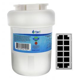 GE MWF & Odorfilter Comparable by Tier1 Refrigerator Water & Air Filter Combo