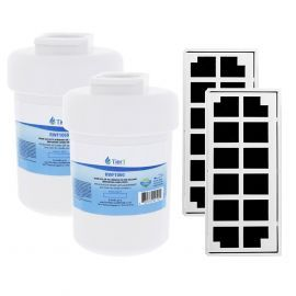GE MWF & Odorfilter Comparable Tier1 Refrigerator Water & Air Filter Combo 2-Pack