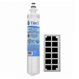 RPWF and OdorFilter GE Comparable Tier1 Refrigerator Water Filter and Air Filter Combo