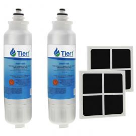 LT800P and LT120F LG Comparable by Tier1 Refrigerator Water Filter and Air Filter Combo (2-Pack)