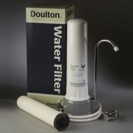 Doulton W9331032 HCP UltraCarb Countertop Filter System With UltraCarb SI Ceramic Filter Candle Filters