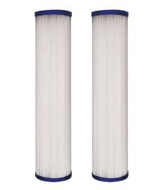 WFPFC3002 Universal Whole House Pleated Poly Filter Cartridge 2-Pack by DuPont