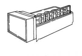 Whirlpool 4389195 Flex Tray Replacement Refrigerator Icemaker Kit