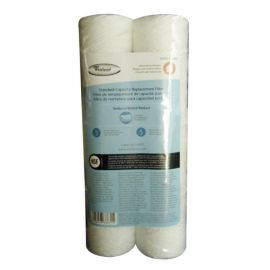 Whirlpool WHKF-WHSW String Wound 5 Micron Sediment Water Filters (2-Pack)