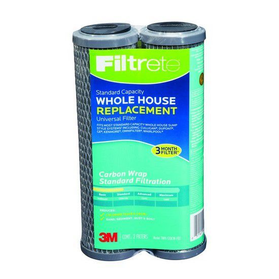 2-PK 3M Filtrete Water Filter Pleated Sediment Whole House Replacement Cartridge