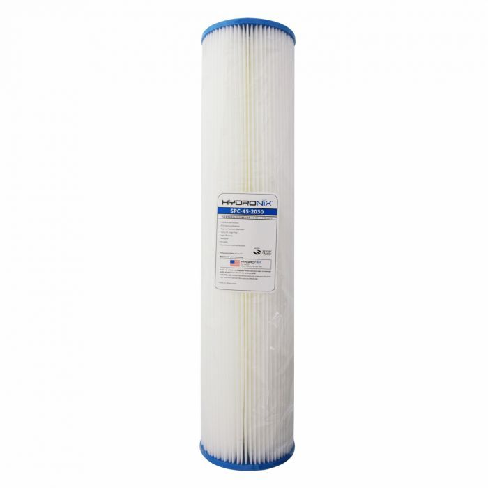 Fits Hydronix SPC-45-2020 20 Micron 10 x 4.5 Comparable Sediment Water Filter