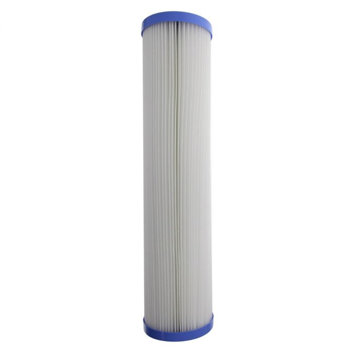 Pentek R30-20BB Pleated Polyester Filter Cartridge 30 Microns Pack of 2 20 x 4-1//2