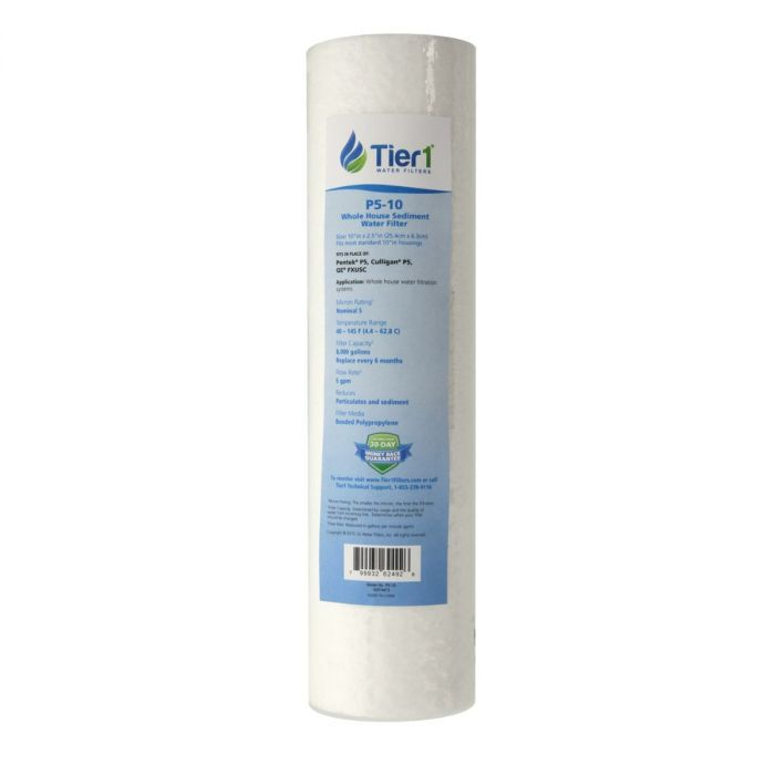 10x 2.5 inch  Sediment Filtration Replacement Cartridge