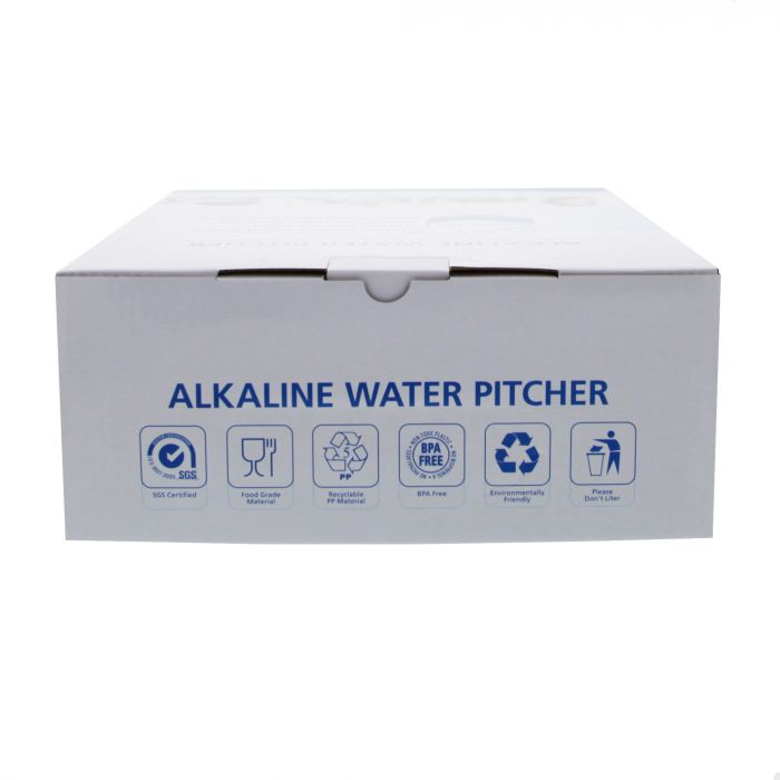 Tier1 Alkaline Water Pitcher Replacement Filters 3-Pack