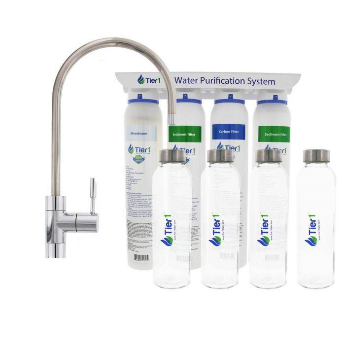 BOTTLED Filtering Water Bottle,2-Stages,BPA Free,Ultrafiltration Membrane Filter