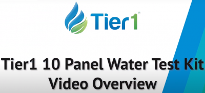 Learn about the Tier1 10 Panel Water Test Kit