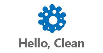 Hello, Clean