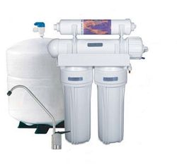 4 stage Standard TFM Reverse Osmosis System with Inline Filter Replacements
