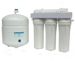 4 stage TFM Reverse Osmosis System without Inline Filter Replacements
