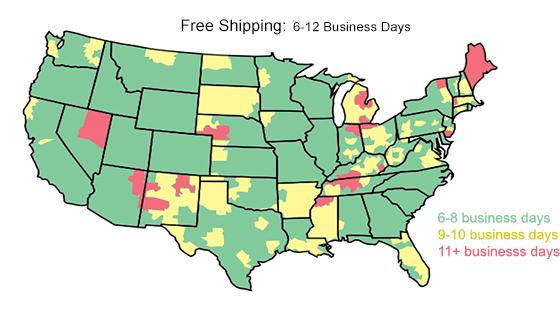 shipping transit times